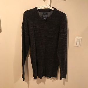 Men's L -dark green sweater